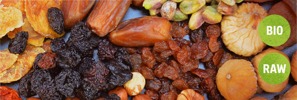 Raw Dried Fruit