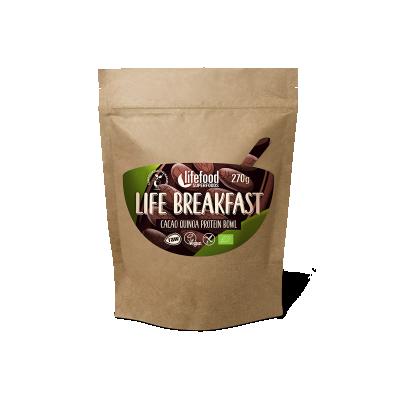 Raw Organic LIFE BREAKFAST Bowl Cacao Quinoa Protein
