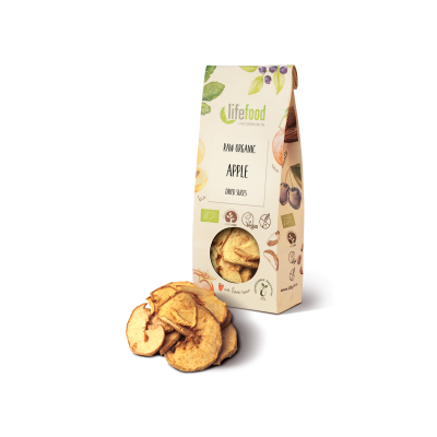 Raw Organic Dried Apple Slices
