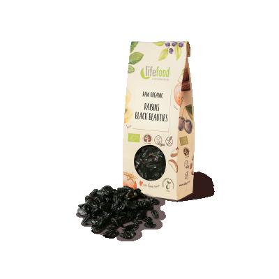 Raw Organic Black Beauties Raisins