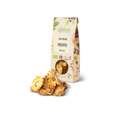 Raw Organic Dried Pineapple