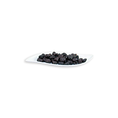 Raw Organic Dried Black Botija Pitted Olives 150 g