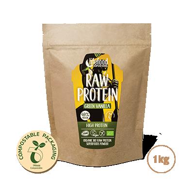 Raw Organic Green Vanilla Protein Superfood Powder 1 kg
