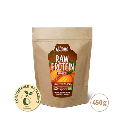 Raw Organic Pumpkin Protein 450 g