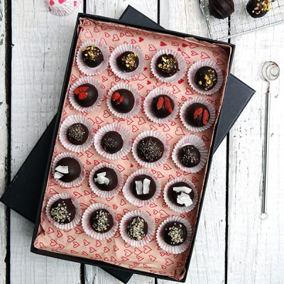 Melt-in-your-mouth Chocolate Truffles