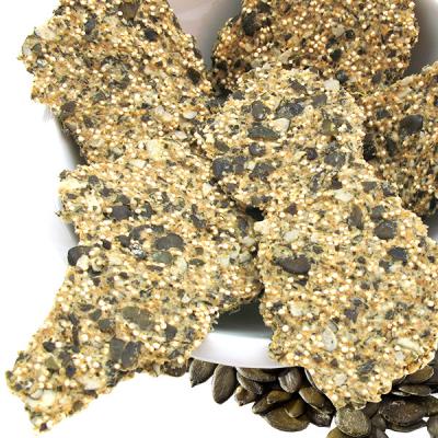 Pumpkin Seeds & Quinoa Crackers