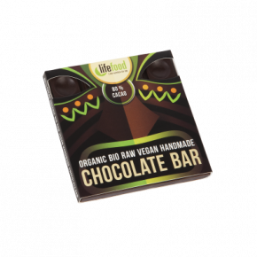 Raw Organic 80 % Cacao Chocolate 35g