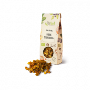Raw Organic Green Khorog Raisins