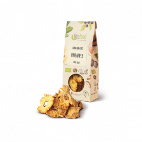 Raw Organic Dried Pineapple