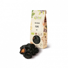 Raw Organic Dried Prunes Halves