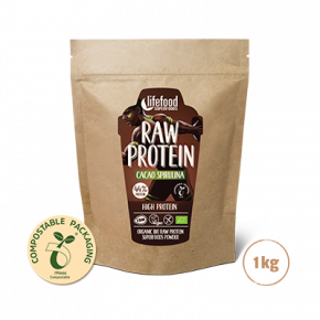 Raw Organic Cacao Spirulina Protein Superfood Powder 1 kg