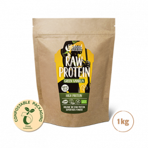 Raw Organic Green Vanilla Protein Superfood Powder 1 kg