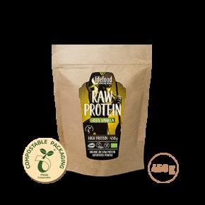 Raw Organic Green Vanilla Protein Superfood Powder 450 g