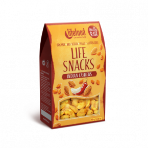 Raw Organic Indian Cashews Life Snacks
