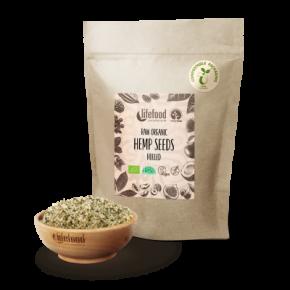 Raw Organic Hemp Seeds Hulled