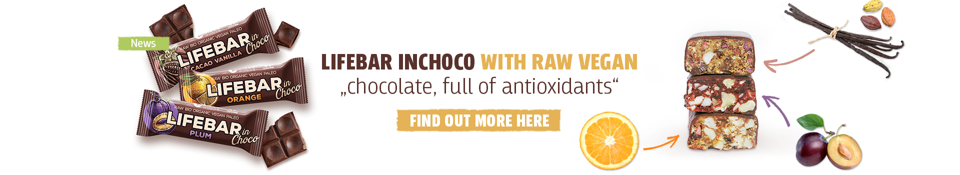 New inChoco bars